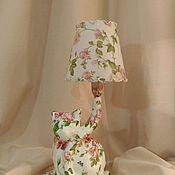 Для дома и интерьера ручной работы. Ярмарка Мастеров - ручная работа Кошечка в розочках. Handmade.