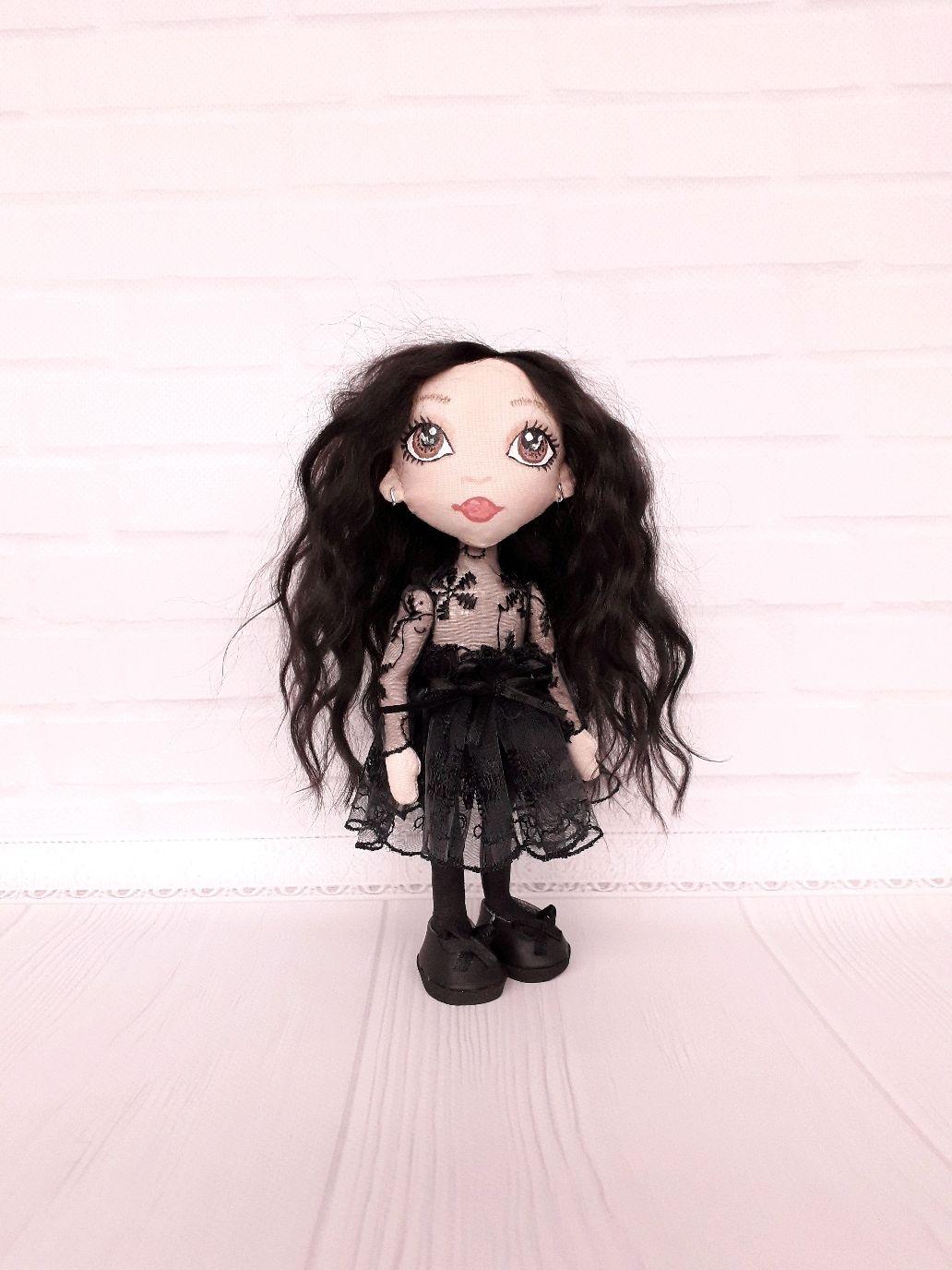"""Кукла Демон из пары """"Ангел и Демон"""", Портретная кукла, Шостка,  Фото №1"""