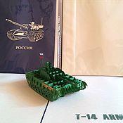"""Открытки ручной работы. Ярмарка Мастеров - ручная работа 3D Открытка """"Танк Т-14 ARMATA"""". Handmade."""