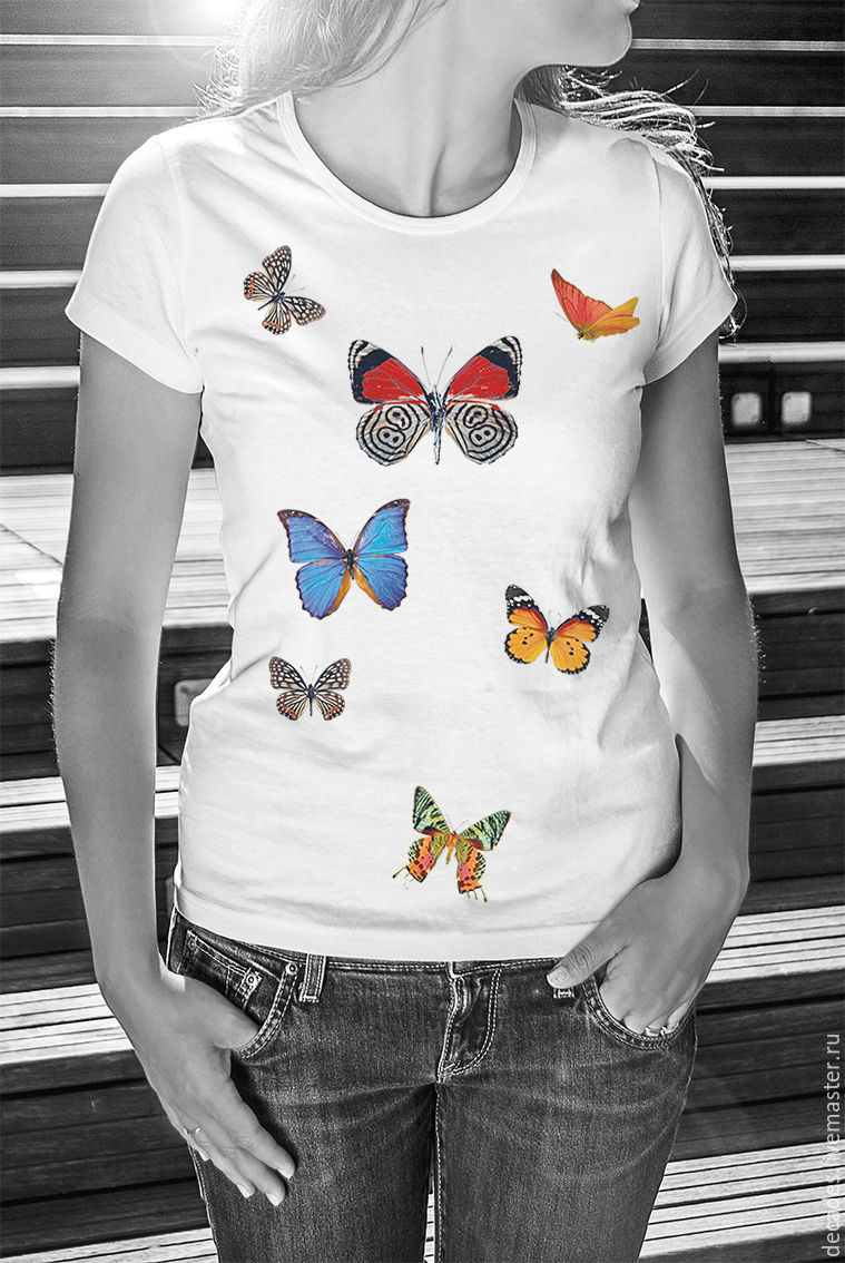 T-Shirt Butterfly, T-shirts, Moscow,  Фото №1