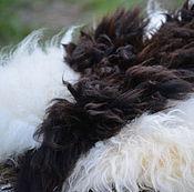Материалы для творчества ручной работы. Ярмарка Мастеров - ручная работа Видео МК «Комбинированный валяный ковер из флисов овец, лам и альпак». Handmade.