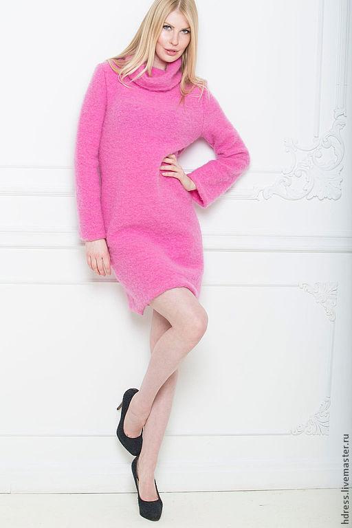"""Платья ручной работы. Ярмарка Мастеров - ручная работа. Купить Платье """"Розовое облако"""". Handmade. Розовый, платье"""