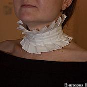 handmade. Livemaster - original item Folk decorations: Necklace (stand-up collar) Neck decoration. Handmade.