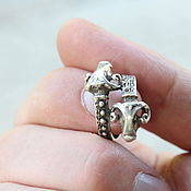 Украшения handmade. Livemaster - original item Men`s-women`s Aries ring made of 925 silver (VIDEO) HB0013. Handmade.