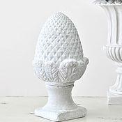 Для дома и интерьера handmade. Livemaster - original item Artichoke - lump figurine Provence of concrete, decor, pinecone vintage, shabby. Handmade.