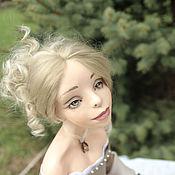"""Куклы и игрушки ручной работы. Ярмарка Мастеров - ручная работа Каркасная кукла """"Вышивальщица"""". Handmade."""