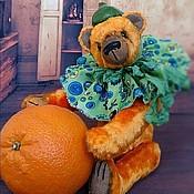 Куклы и игрушки ручной работы. Ярмарка Мастеров - ручная работа Апельсинчик. Мишка Тедди 23см. Handmade.
