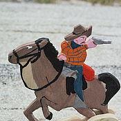 Куклы и игрушки handmade. Livemaster - original item Cowboy. Handmade.