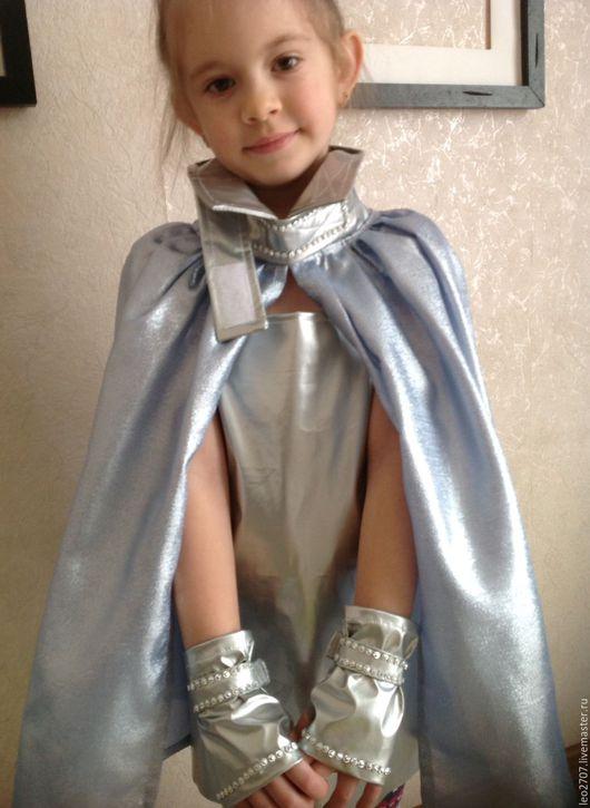 Детские карнавальные костюмы ручной работы. Ярмарка Мастеров - ручная работа. Купить Карнавальный костюм Космическая принцесса. Handmade. липучка