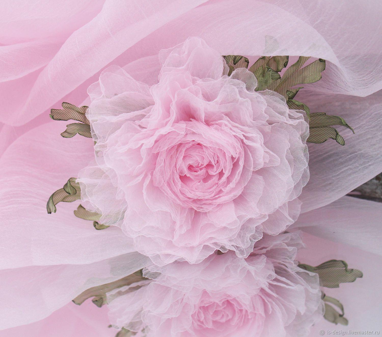 Нежный розовый пион, Свадебные цветы, Киев, Фото №1