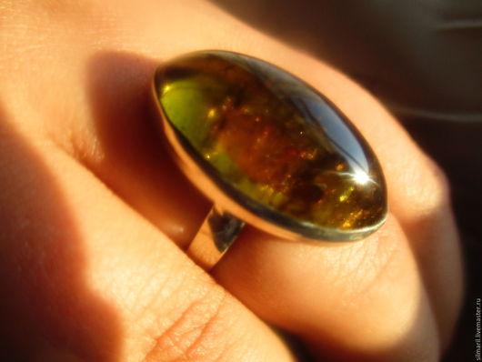 кольцо `Золото эльфа`` цена 2700 турмалин