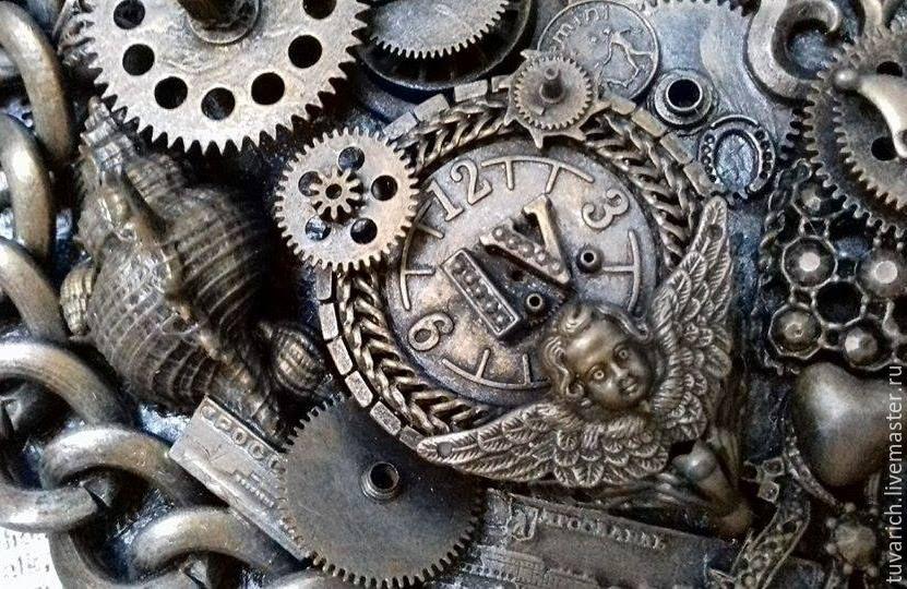 Часы стимпанк (steampunk) - Песня моря (фрагмент)