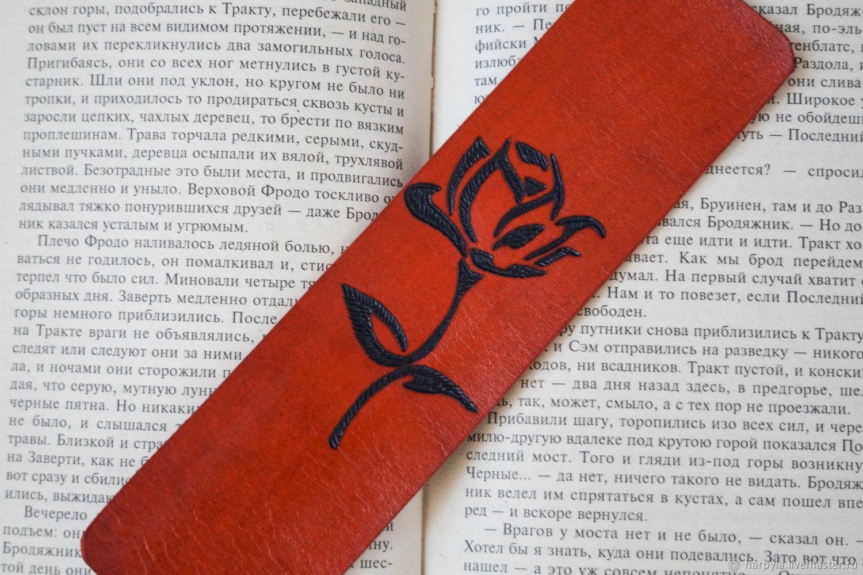 """Закладка для книги """"Rose"""", Закладки, Москва,  Фото №1"""