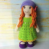 Куклы и игрушки handmade. Livemaster - original item Doll knitted Arina. Handmade.