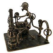 Сувениры и подарки handmade. Livemaster - original item Driller in the oil industry. Handmade.