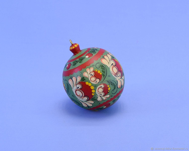 Шар ёлочный № 42, Елочные игрушки, Северодвинск,  Фото №1