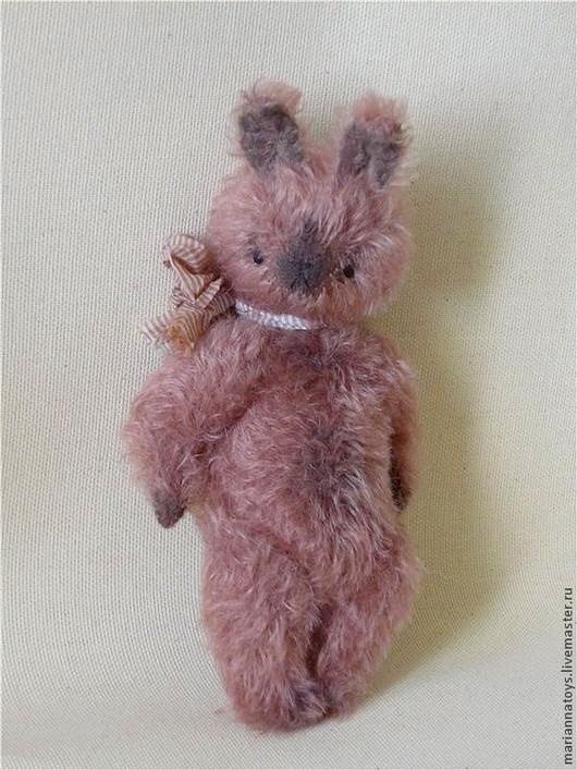 Мишки Тедди ручной работы. Ярмарка Мастеров - ручная работа. Купить Зайка Йошико. Handmade. Розовый, опилки