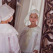 Работы для детей, ручной работы. Ярмарка Мастеров - ручная работа Крестильная рубашка, рубашка для Крещения. Handmade.