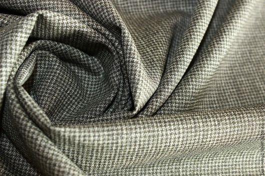 Шитье ручной работы. Ярмарка Мастеров - ручная работа. Купить Костюмно-плательная шерсть стрейч, 1450руб-м. Handmade. Остатки