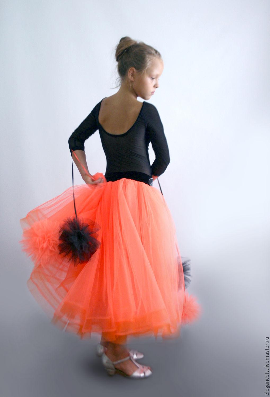 Юбки чёрные для бальных танцев