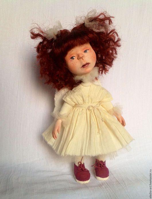 Коллекционные куклы ручной работы. Ярмарка Мастеров - ручная работа. Купить Авторская кукла из полимерной глины Ангел. Handmade.