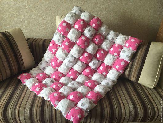 Пледы и одеяла ручной работы. Ярмарка Мастеров - ручная работа. Купить Одеяло бомбон. Handmade. Одеяло, лоскутное шитье