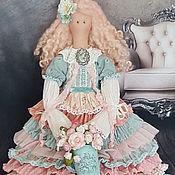 Куклы и игрушки ручной работы. Ярмарка Мастеров - ручная работа Текстильная интерьерная куклаТильда. Handmade.