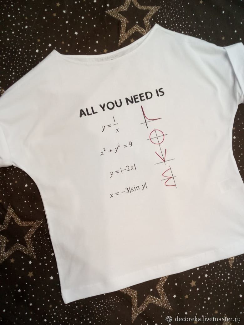 T-shirt : ' All you need is love', T-shirts, Moscow,  Фото №1
