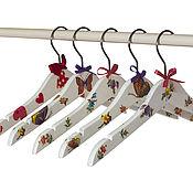 Для дома и интерьера ручной работы. Ярмарка Мастеров - ручная работа Плечики детские. Handmade.