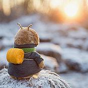 Куклы и игрушки ручной работы. Ярмарка Мастеров - ручная работа зимнее путешествие. Handmade.