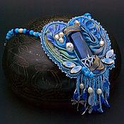 """Украшения handmade. Livemaster - original item Брошь-кулон (трансформер) """"Лунная серенада"""". Handmade."""