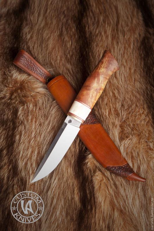 """Подарки для мужчин, ручной работы. Ярмарка Мастеров - ручная работа. Купить Нож ручной работы """" Red fox"""". Handmade."""
