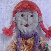 Куклы и игрушки ручной работы. Ярмарка Мастеров - ручная работа Кукла-панно ОСЕНЬ. Handmade.