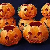Для дома и интерьера handmade. Livemaster - original item Indoor and Outdoor Candle Lantern Halloween. Handmade.