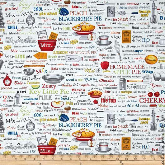 """Шитье ручной работы. Ярмарка Мастеров - ручная работа. Купить Набор тканей. (3 вида) """"Привет от повара-1"""". Американский хлопок.. Handmade."""