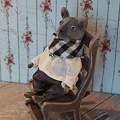 Куклы и игрушки ручной работы. Ярмарка Мастеров - ручная работа Мых - маленький мышонок. Handmade.