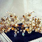 Украшения handmade. Livemaster - original item Bridal tiara