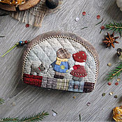 "Сумки и аксессуары handmade. Livemaster - original item Lovely Coin Purse ""Promenade"". Handmade."