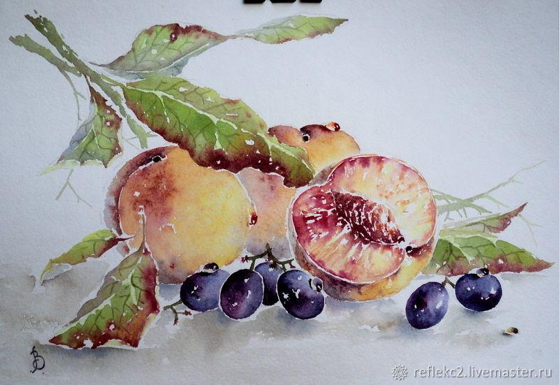 персики, Картины, Сараи,  Фото №1