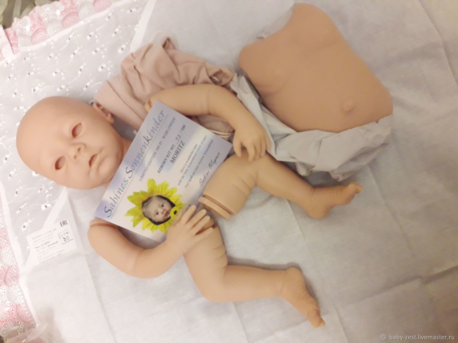 Лимитированный молд Moritz от Sabine Wegner, Заготовки для кукол и игрушек, Санкт-Петербург,  Фото №1