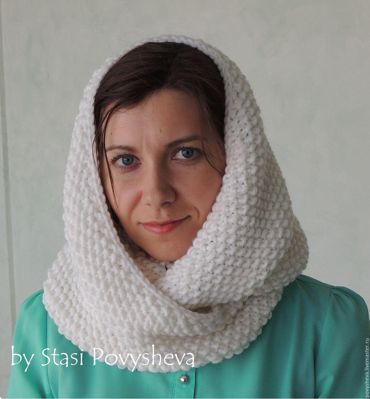 схема вязания шарф гарри поттера