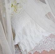 Свадебный салон ручной работы. Ярмарка Мастеров - ручная работа Подарок на свадьбу .Постельное бельё с кружевом Жозелия. Handmade.