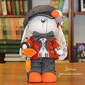 Куклы и игрушки ручной работы. Ярмарка Мастеров - ручная работа Зайка Джентельмен. Handmade.