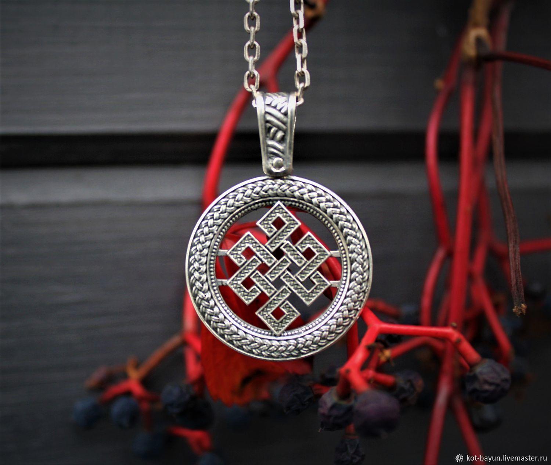 Pendant Knot life 925 silver, Pendants, Moscow,  Фото №1