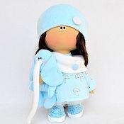 Куклы и пупсы ручной работы. Ярмарка Мастеров - ручная работа Текстильная интерьерная кукла со слоником. Handmade.
