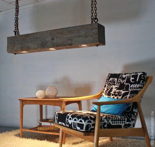 Современный висячий светодиодный светильник на цепях:  - сделано на заказ  - количество светильников от 3 до 12  - длина от 1 метра