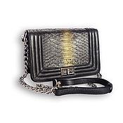 Сумки и аксессуары handmade. Livemaster - original item AVAILABLE-Python BOY CHANEL Handbag. Handmade.