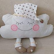 Для дома и интерьера handmade. Livemaster - original item Pillows for children: Pillow - cloud. Handmade.