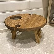 Для дома и интерьера handmade. Livemaster - original item Wine table for 2 glasses. Table with legs. Handmade.