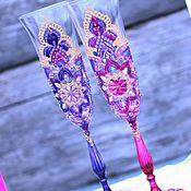 Свадебный салон handmade. Livemaster - original item Wedding glasses